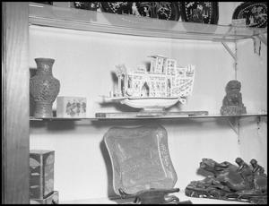 Primary view of object titled '[Asian Display Case]'.