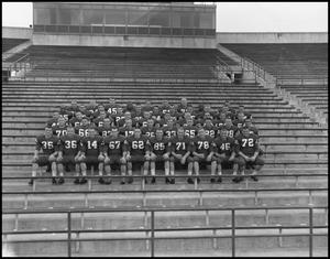 Primary view of object titled '[North Texas State University Football Team, September 1962 #3]'.