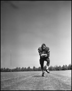 Primary view of object titled '[Jersey Number 46 Football Player]'.