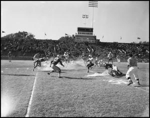 Primary view of object titled '[1960 North Texas Vs. Tulsa]'.
