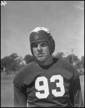 Primary view of object titled '[Jersey Number 93 Football Player]'.