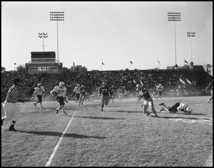 Primary view of object titled '[North Texas Vs. Tulsa Football Game, 1960]'.