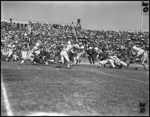 Primary view of object titled '[1961 North Texas vs Tulsa Football Game]'.