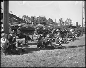 Primary view of object titled '[Austin Football Game]'.