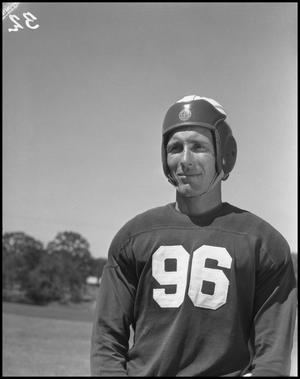Primary view of object titled '[Jersey Number 96 Football Player]'.