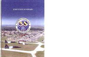 Primary view of object titled 'AF30-Comm Inp Sheppard AFB - BRAC Response'.