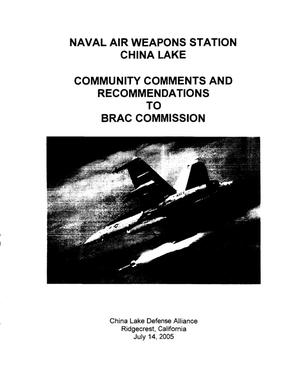 Primary view of object titled 'NMC32 Comm Input NMCNAWS China Lake CA'.