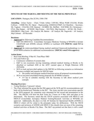 Primary view of object titled 'Medical JCSG 37 Minutes 04 Mar 05.pdf'.