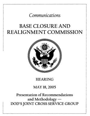 Primary view of object titled 'H-5-18-2 Hearing Book 051805 Washington DC'.
