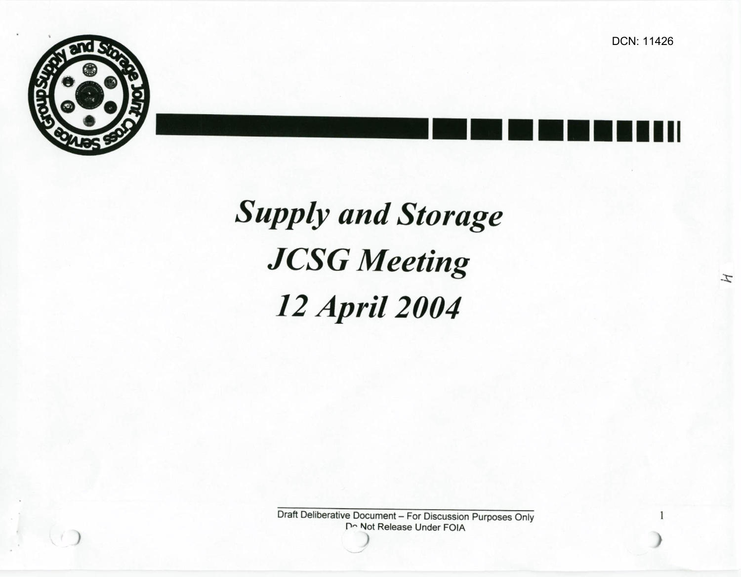 S&S JCSG 12 Minutes 12 Apr 04                                                                                                      [Sequence #]: 4 of 14