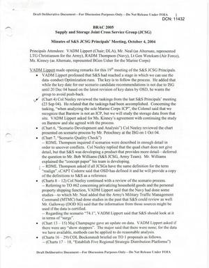 Primary view of object titled 'S&S JCSG 19 Minutes 04 Oct 04.pdf'.