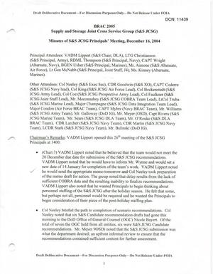 Primary view of object titled 'S&S JCSG 27 Minutes 16 Dec 04.pdf'.