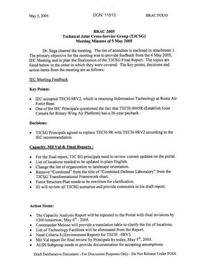Primary view of object titled 'Technical JCSG 152T Minutes  05 May 05.pdf'.