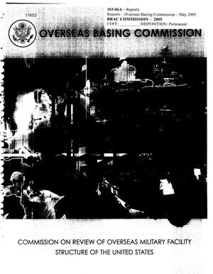 Primary view of object titled 'Reports - Overseas Basing Commission'.