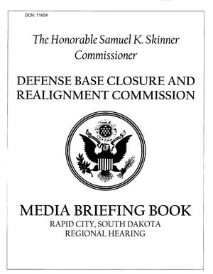 Primary view of object titled 'Regional Hearing - Media Briefing Book'.