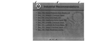 Primary view of object titled 'Industrial Recommendations'.