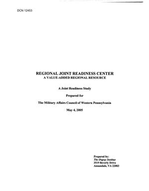 Primary view of object titled 'Community Input - Joint Readiness Center'.