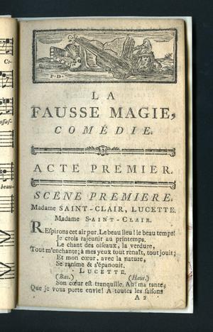 Primary view of La fausse magie