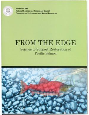 Primary view of object titled 'From the Edge: Science to Support Restoration of Pacific Salmon'.