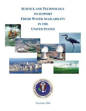 Primary view of object titled 'Science and Technology to Support Fresh Water Availability in the United States'.