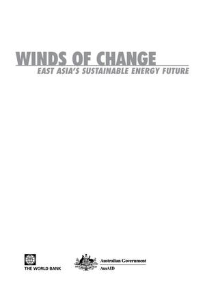 Primary view of object titled 'Winds of Change: East Asia's Sustainable Energy Future'.