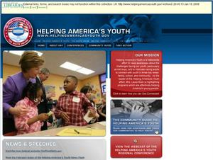 Primary view of object titled 'Helping America's Youth'.