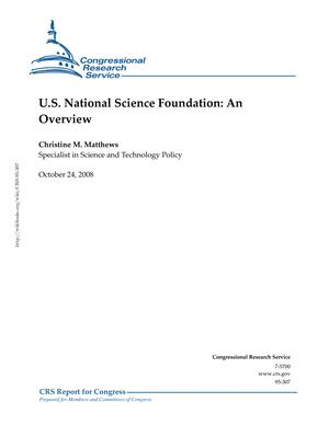 U.S. National Science Foundation: An Overview