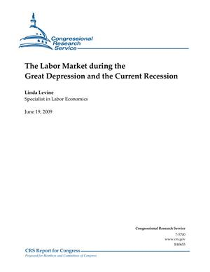 The Labor Market during the Great Depression and the Current Recession