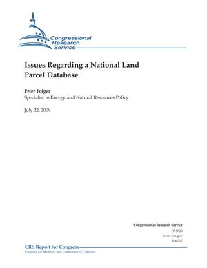 Issues Regarding a National Land Parcel Database
