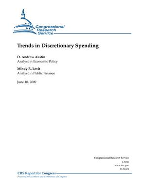 Trends in Discretionary Funding
