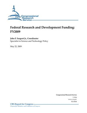 Federal Research and Development Funding: FY2009