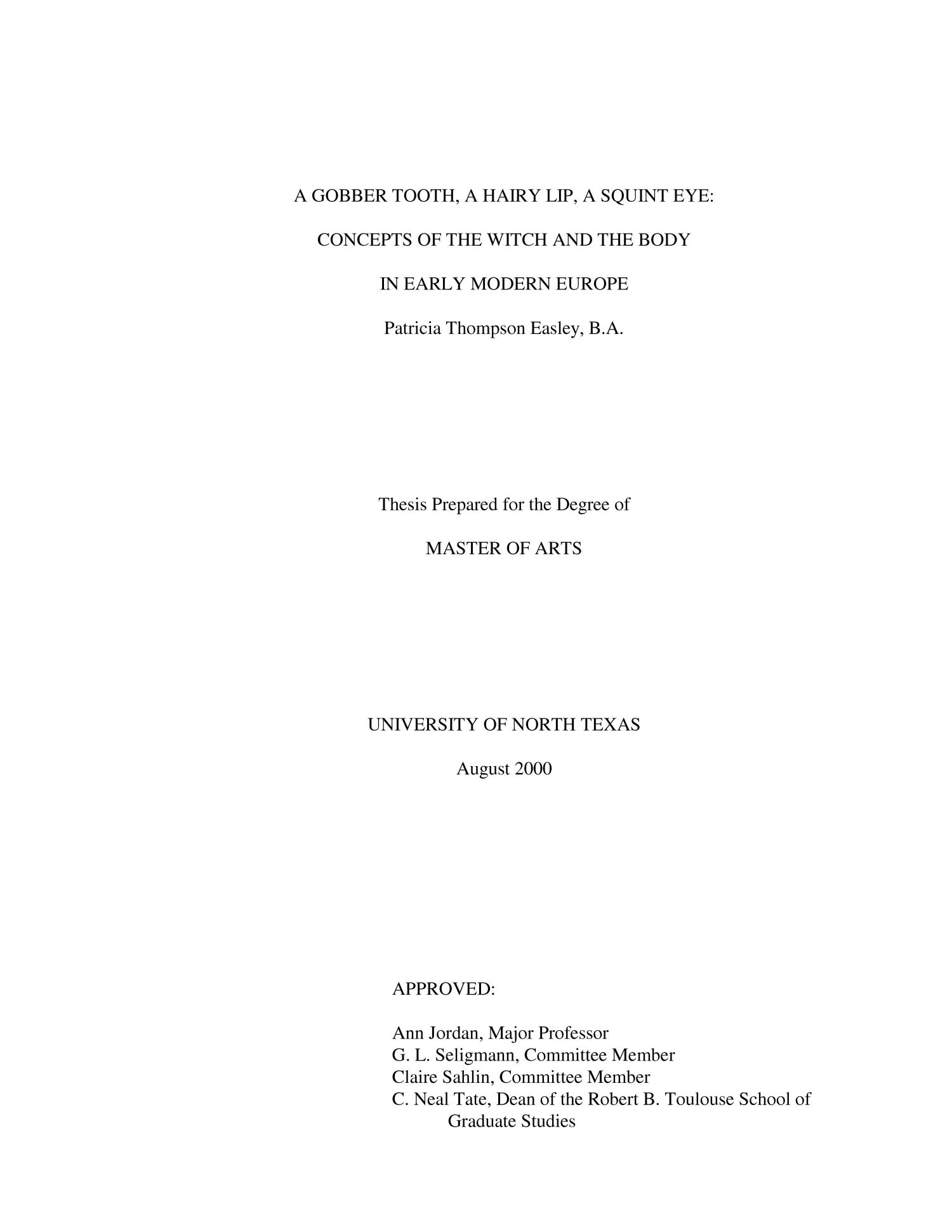 optical character recognition thesis