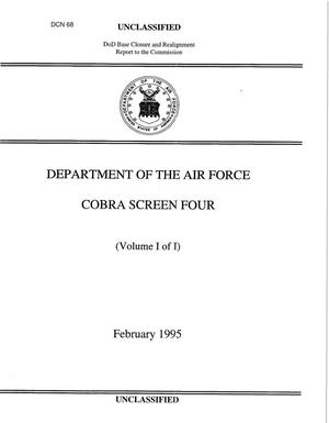 Primary view of object titled 'Air Force COBRA Runs #1'.