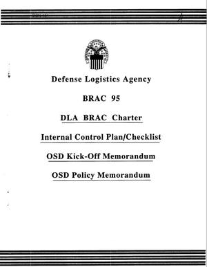 Primary view of object titled 'DLA BRAC 1995 Charter & Defense Distribution Depots COBRA'.