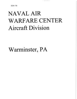 Primary view of object titled 'Naval Air Warfare Center - Aircraft Division, Warminster, PA'.