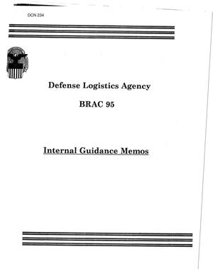 Primary view of object titled 'Defense Logistics Agency Internal Guidance; Econ Data; Investigative Svc Data, Mar 1994-Feb 1995'.
