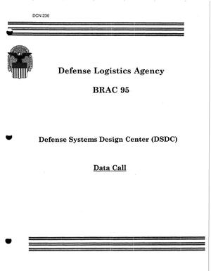 Primary view of object titled 'Defense Logistics Agency, Defense Systems Design Center - Data Call 1994'.
