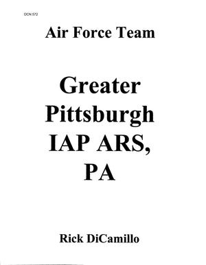 Primary view of object titled 'Pittsburgh Air Reserve Station, PA - Data, Correspondence and Briefings (C1 of 4)'.