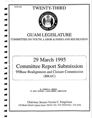 Primary view of object titled 'Reports and Correspondence - Guam'.