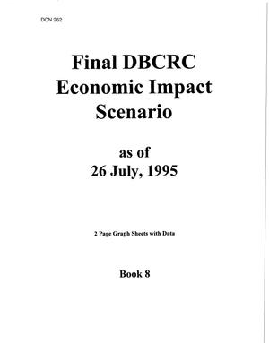 Primary view of object titled 'Final Economic Impact Scenario as of July 26, 1995'.