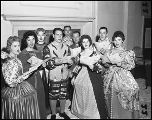 Primary view of object titled '[Madrigal Singers in Costume]'.