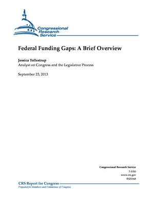 Federal Funding Gaps: A Brief Overview