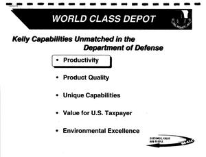 Primary view of object titled 'Air Force Facilities - Site Presentations, April 1995'.