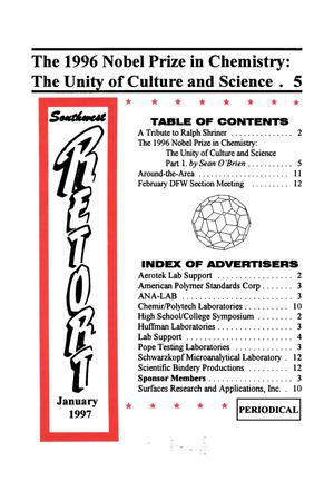 Primary view of object titled 'Southwest Retort, Volume 50, Number 5, January 1997'.