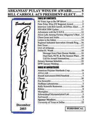 Primary view of object titled 'Southwest Retort, Volume 56, Number 4, December 2003'.