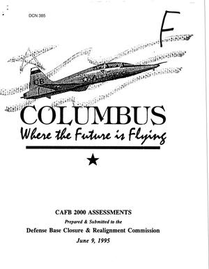 Primary view of object titled 'Columbus AFB: Where the Future is Flying, June 9, 2005'.