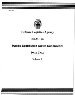 Primary view of object titled 'Defense Logistics Agency (DLA) Defense Distribution Region East Volume A'.