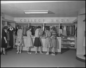 Primary view of object titled '[Photograph of Russell's Department Store]'.
