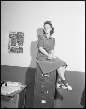 Primary view of object titled '[Betty Morris]'.