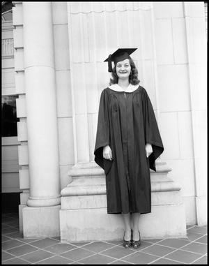 Primary view of [Photograph of Graduating Senior]
